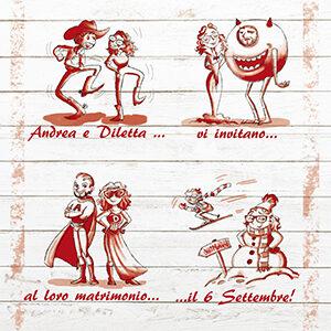 Chiara Macchi - Illustrazioeni matrimoni