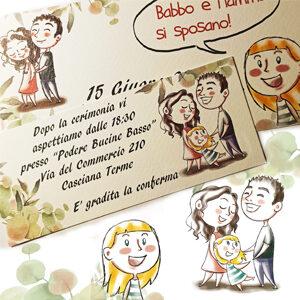Chiara Macchi - Illustrazioni matrimoni